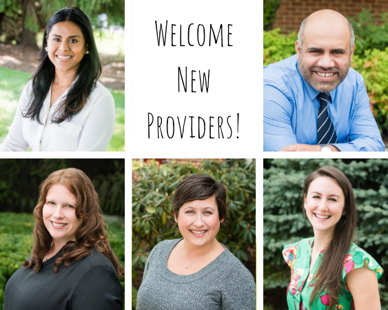 New Providers